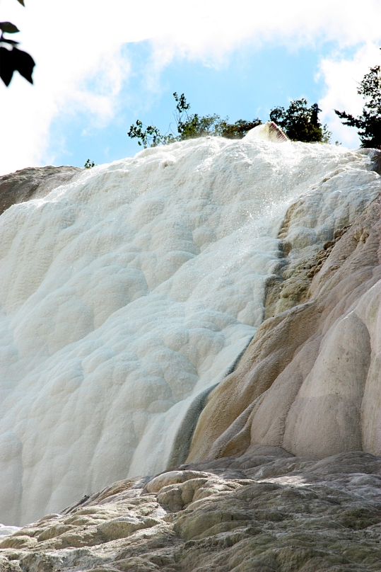 Fosso Bianco - Bagni San Filippo  -  Val d'Orcia