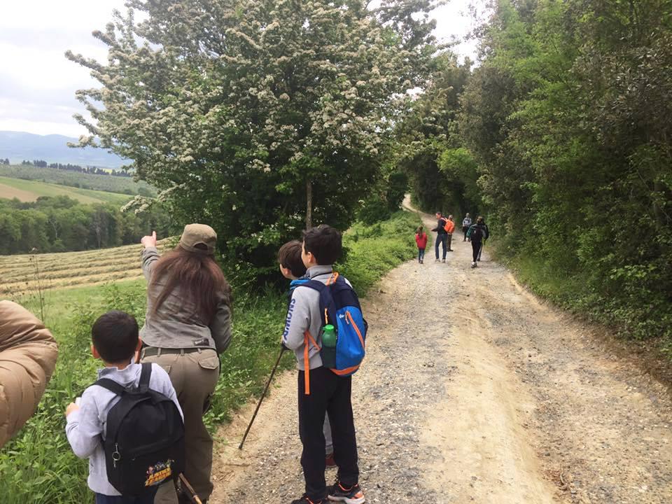 Escursione con i bambini