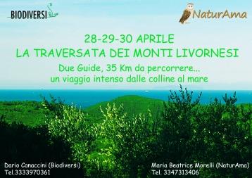 Escursione di più giorni sui Monti Livornesi, dalle colline al mare